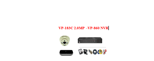 Camera Vantech IP 2.0mp ( Trọn bộ 1 camera)